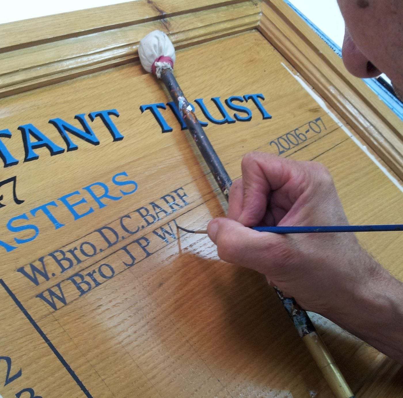 Traditional Signwriting